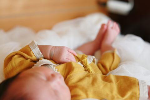 日本製の低出生体重児(未熟児)のベビー服