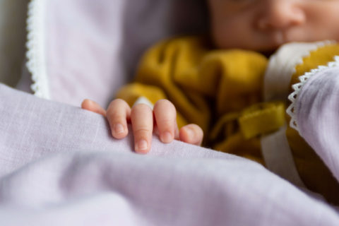 低出生体重児(未熟児)の出産とおくるみ