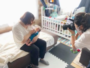 低出生体重児_未熟児とママと肌着
